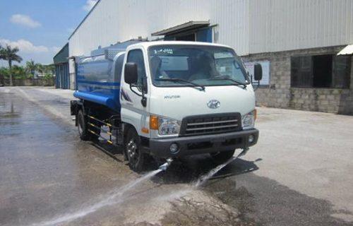 Hyundai HD72-3,5 Tấn Đồng Vàng Rửa Đường