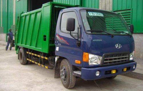 Hyundai HD72-3,5 Tấn Đồng Vàng Ép Rác
