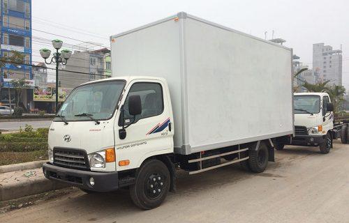Hyundai HD72-3,5 Tấn Đồng Vàng Thùng Kín