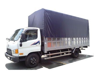 Xe tải Hyundai HDV450 4,5 Tấn Đồng Vàng Thùng Bạt