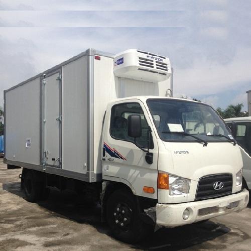 Xe tải hyundai HDV450 4,5 tấn thùng đông lạnh