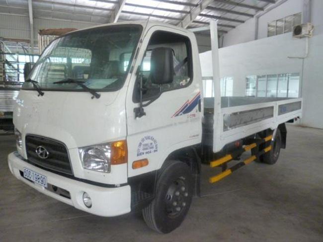 Xe tải Hyundai HD78 4,5 tấn thùng lửng