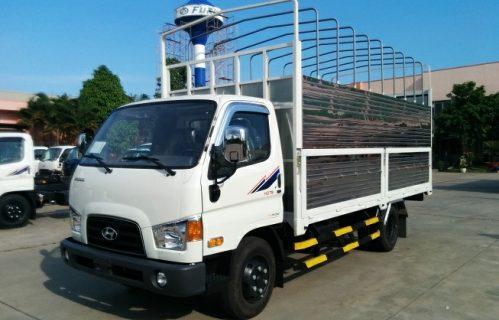 Xe tải Hyundai HD78 4,5 tấn thùng bạt