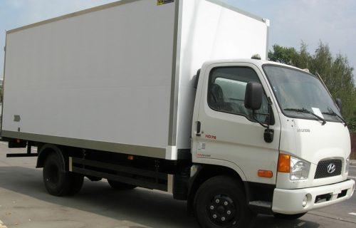 Xe tải Huyndai hd78 4,5 tấn thùng kín bảo ôn
