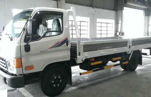 Hyundai HDV450 4,5 tấn đồng vàng thùng lửng