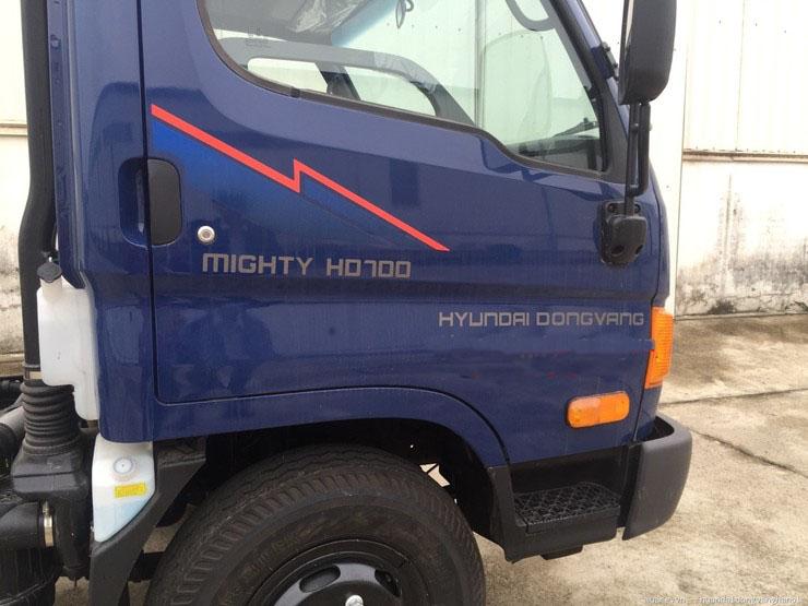 Hyundai HD700 7 tấn nâng tải thùng lửng