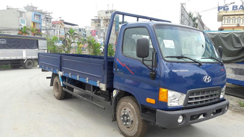 Hyundai hd700 thùng lửng