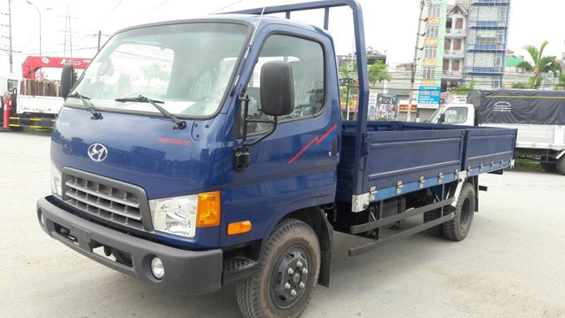 Xe hyundai hd700 thùng lửng