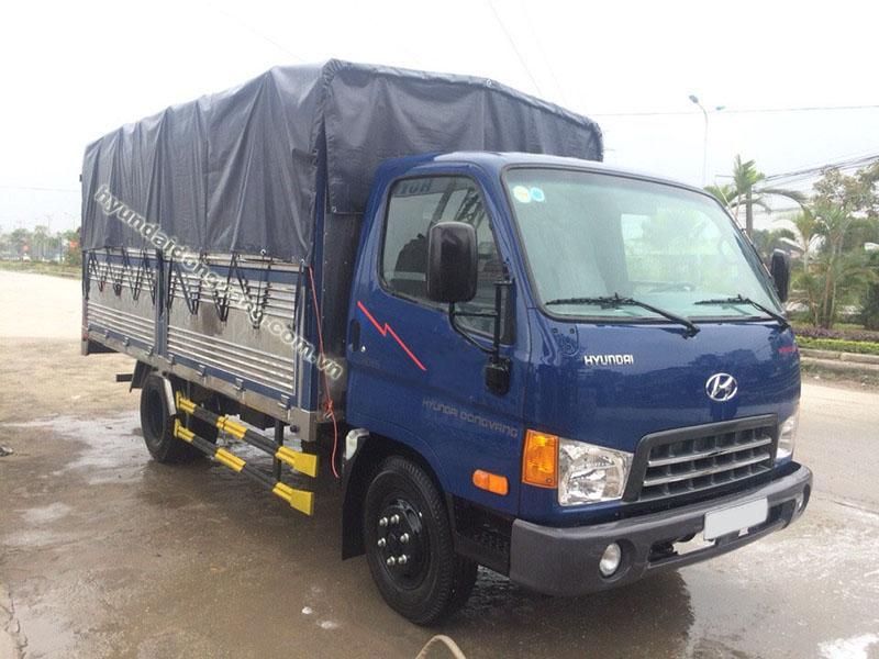 xe tải hyundai hd700 nâng tải