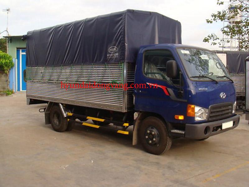 hyundai hd600 5 tấn thùng bạt