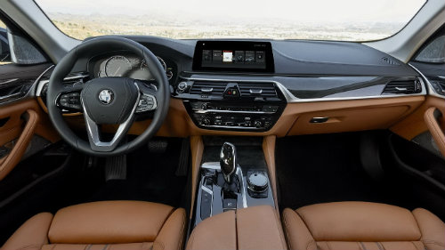 cabin bmw 5 series