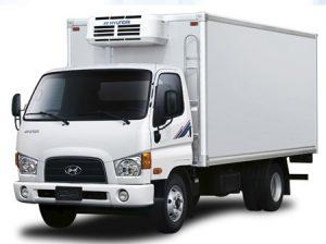 Xe tải hyundai hd600 thùng đông lạnh