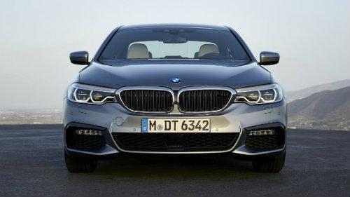 Lưới tản nhiệt của BMW 5 seriess