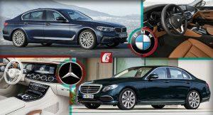 Mercedes Benz E-Class và BMW 5-Series: Ai bạo hơn ai?