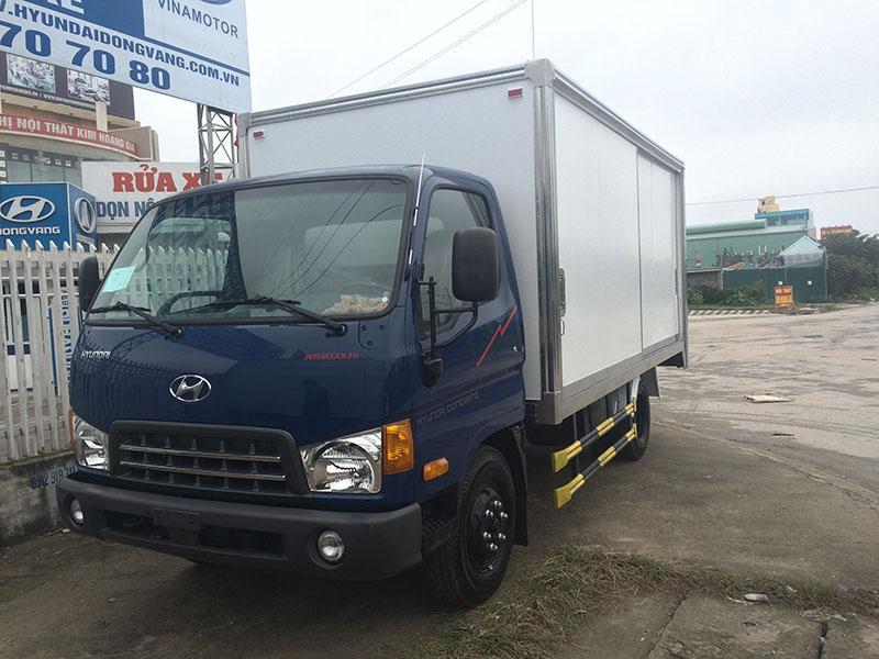 Xe tải hyundai hd600 thùng kín