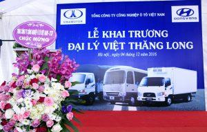 Hình ảnh khai trương Đại lý Vinamotor Việt Thăng Long